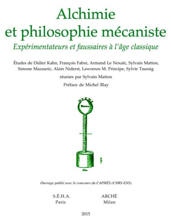 Alchimie philosophie