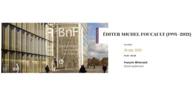 Éditer Michel Foucault 1994-2021